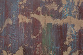 Grunge red and blue painted wall  — Stockfoto