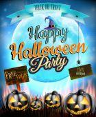Feliz festa de halloween. eps 10 — Vetorial Stock