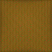Needlework Background, Red Green Pattern. EPS 10 — 图库矢量图片