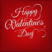 Надпись года изготовления вина Дня святого Валентина. eps 10 — Cтоковый вектор