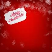 Merry Christmas greeting card. EPS 10 — Vector de stock