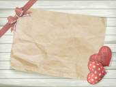 Sevgililer günü oyuncak kalp. Eps 10 — Stok Vektör