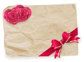 Valentine vintage card. EPS 10 — 图库矢量图片