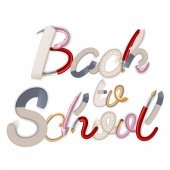 Tillbaka till skolan bakgrund. Eps 10 — Stockvektor