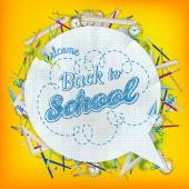 Back To School. EPS 10 — ストックベクタ