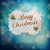 Carte de voeux joyeux Noël. Eps 10 — Vecteur