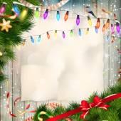 Christmas card. EPS 10 — Stock Vector