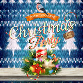 Christmas decoration. EPS 10 — Stock Vector