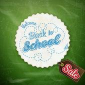 School Sale Design. EPS 10 — Stock Vector