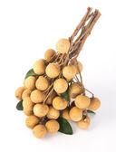 Longan fruit on a background — Stock Photo