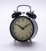 Alarm clock. alarm clock on the background. — Stock Photo