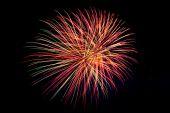 Firework Display — Stock Photo