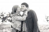 Jeune couple amour — Photo