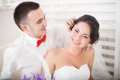 Happy wedding day — Stock Photo