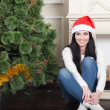 Santas Woman — Stock Photo #58822835