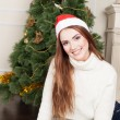 Santas Woman — Stock Photo #58823241