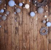 новогодний фон — Стоковое фото