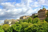 Princess Gardens in Edinburgh, Scotland — Stockfoto