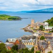 Panorama of Oban, a resort town within the Argyll and Bute council area of Scotland. — Stock Photo #69318259