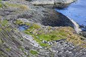 Staffa, an island of the Inner Hebrides in Argyll and Bute, Scotland — Stock Photo