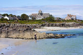 Iona, a small island in the Inner Hebrides off the Ross of Mull on the western coast of Scotland — Stock Photo