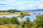 "Stalker castle ""the castle of Aaargh"", Scotland — Stock Photo"