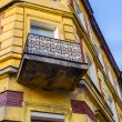 The old, historical tenements at the Old Market Square in Cracow, Poland ( Krakow, Polska) — Stock Photo #71647575