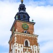 Old Town Hall  (Ratusz) at Main Market Square (Rynek Glowny) in Cracow , Krakow, Poland, Europe — Stock Photo #71647647