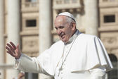 Pope Francis — Stock Photo