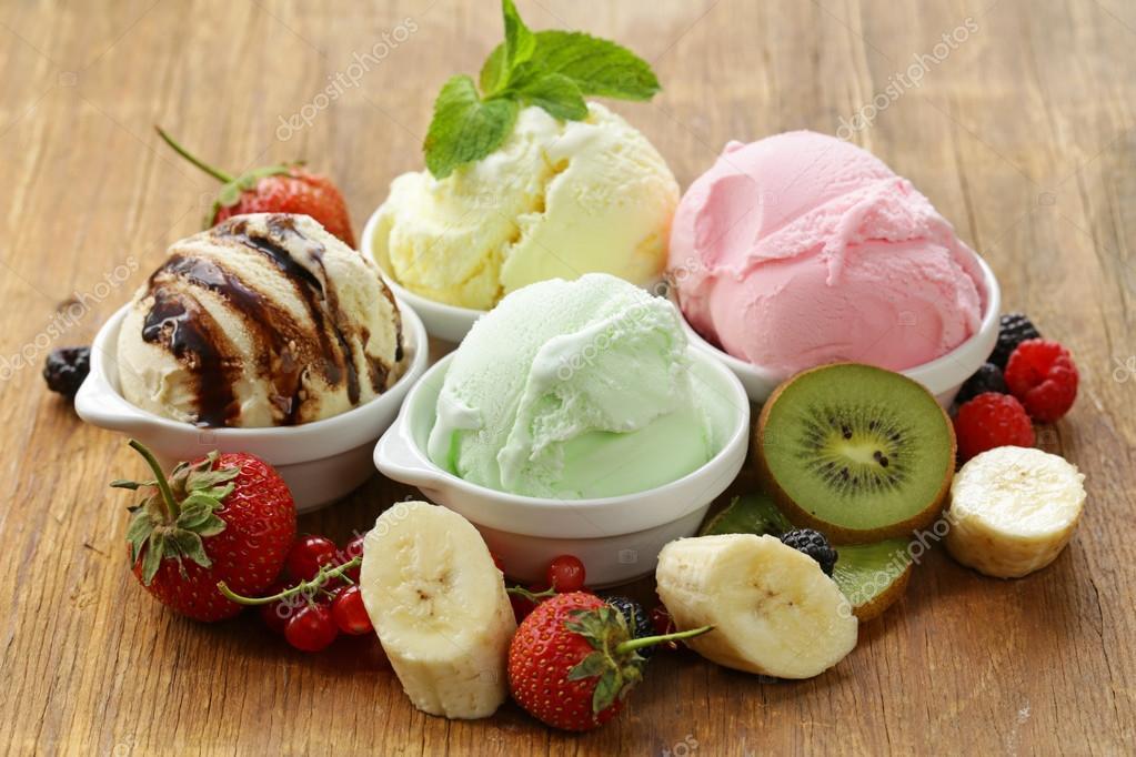 мороженое клубника шарики ice cream strawberry balls  № 2145066 загрузить