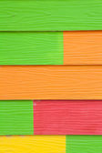 Colorful wood texture background — Stock Photo
