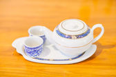 Chinese Tea Set with Teapot and cup — Stock Photo