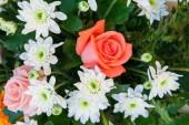 Flower arrangements for weddings — Stock Photo