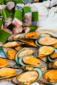 Sea food setup for wedding ceremony in Thailand — Stockfoto