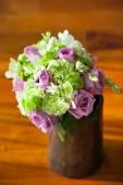 Closeup Of A Beautiful Rose Bouquet — Stock Photo