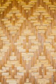 Woven texture bamboo crafts  — Photo
