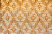 Woven texture bamboo crafts — Stock Photo