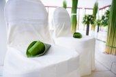 結婚式のフラワーアレンジメント — ストック写真