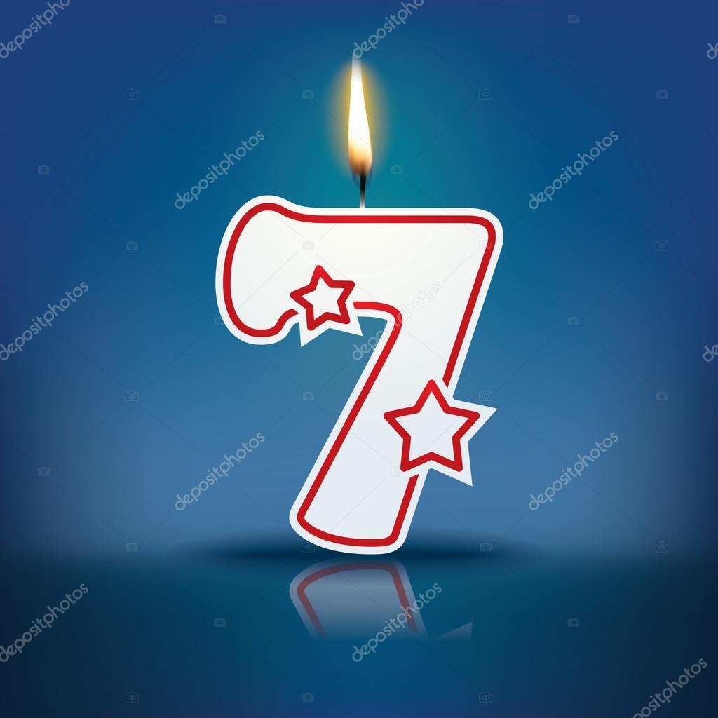 蜡烛火焰 7 号— 图库矢量图像08