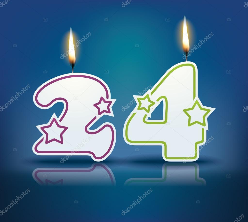 Поздравление с днем рождения с 24 лет