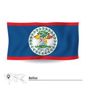 Flag of Belize — Stock Vector