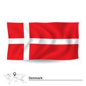 Flag of Denmark — Stock Vector