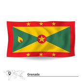 Flag of Grenada — Stock Vector