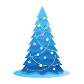 New Year Tree — Stock Vector