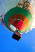 Colorido globo volador — Foto de Stock