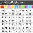 Постер, плакат: Media Icons Web Icons Arrow Icons Setting Icons Cloud Icons