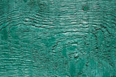 Old painted turquoise board — Stock Photo
