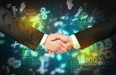 Economy handshake — Stok fotoğraf