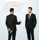 Ruthless business concept — Stock Photo