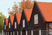 Danish buildings — Stock Photo